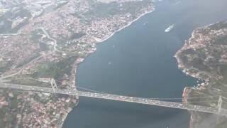 İSTANBUL ATATÜRK AİRPORT THY İNİŞ 4K VIDEO TURKISH AIRLINES ISTANBUL LANDING