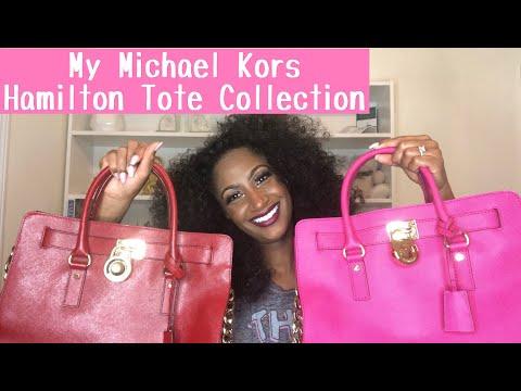 My Michael Kors Hamilton Tote Handbag Collection