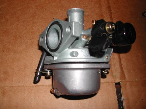 How To Clean a ATV / Minibike Carburetor 50cc-125cc