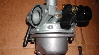 How To Clean a ATV /  Minibike Carburetor 50cc-125cc