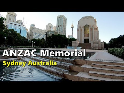 ANZAC Memorial - Sydney Australia