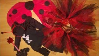 creatEnjoy LADYBIRD costume for girls - божья коровка костюм для девочек -