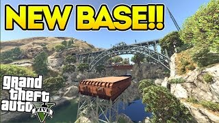 NEW Military Base!! GTA 5 Mods Showcase! (Raton Canyon Base)