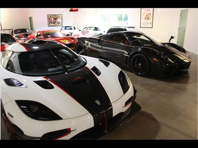 The Most Expensive Car Collection In The World Lake Forest Sports Cars Chicago Youtube