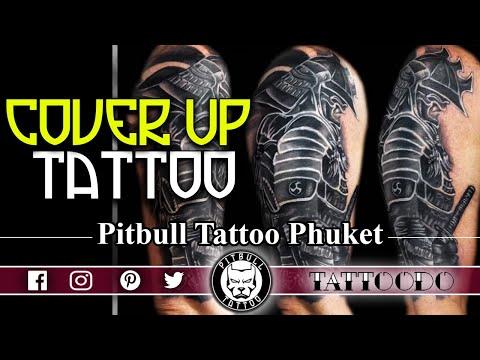 Cover Up Tattoo | Pitbull Tattoo Thailand | Best Tattoo Studio - YouTube