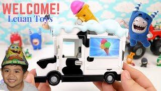 Oddbods Cartoon lustige Pogo Truck, Paw Patrol Picachu, Roblox spielen