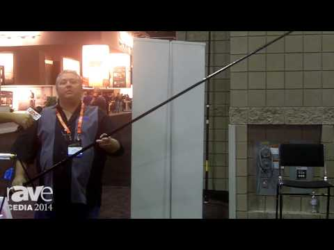 CEDIA 2014: Labor Saving Devices Exhibits the Grabbit Mini Telescoping Pole