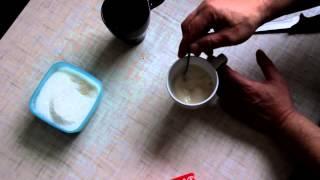 Как подготовить обычные не сухие дрожжи для теста (Тесто: часть 1)