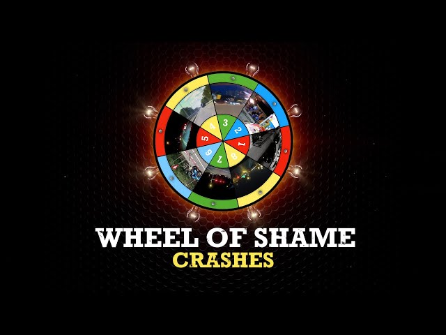 Wheel of Shame Top Crashes and Wrecks of the Week
