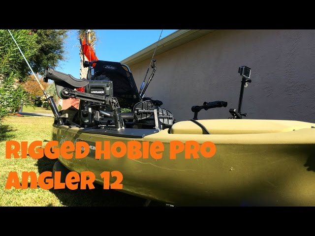 Fully Rigged Hobie Pro Angler 12 for Fishing