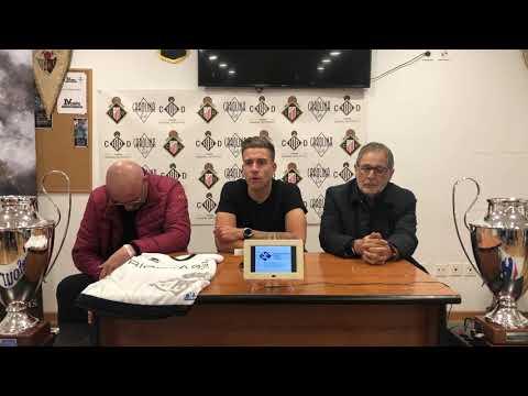 Presentación de Hernan Zazas como nuevo jugador del Caudal Deportivo