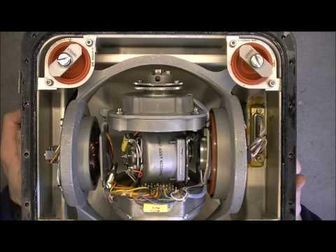 Boeing 737 vertical gyroscope teardown