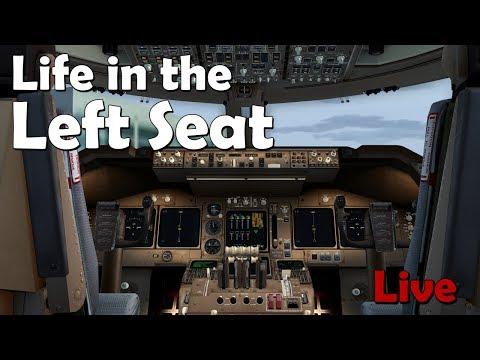 Life in the Left Seat KJFK  EGLL New York to London TransAtlantic Flight!