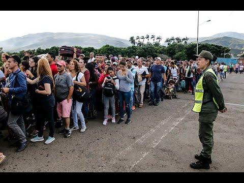 Impresionante flujo de venezolanos en la frontera tras reapertura de pasos por Táchira