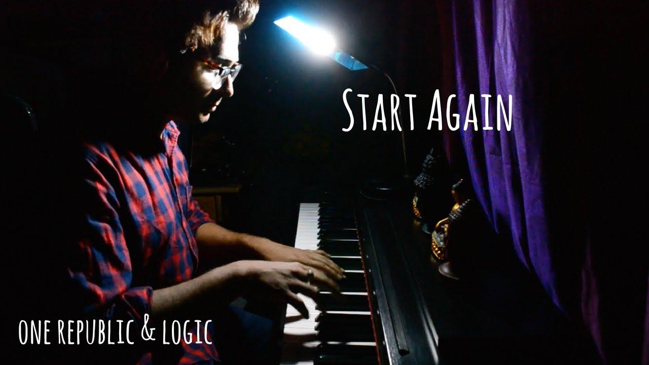 One Republic Feat. Logic - Start Again (Piano Cover)