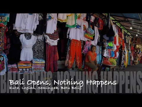 Bali Opens, Nothing Happens 1st August 2020
