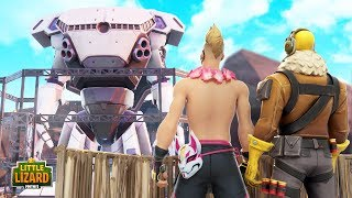WHY is the ROBOT HERE??? - Fortnite Short Films