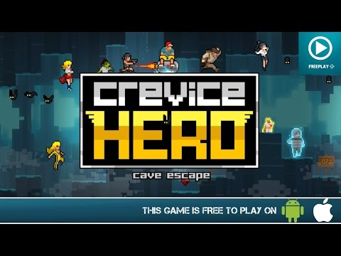 Crevice Hero - Free On Android & iOS Gameplay Trailer