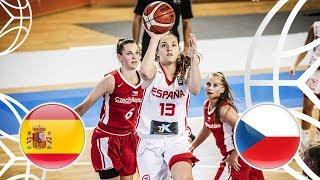 Spain v Czech Republic - Full Game - FIBA U18 Women's European Championship 2018
