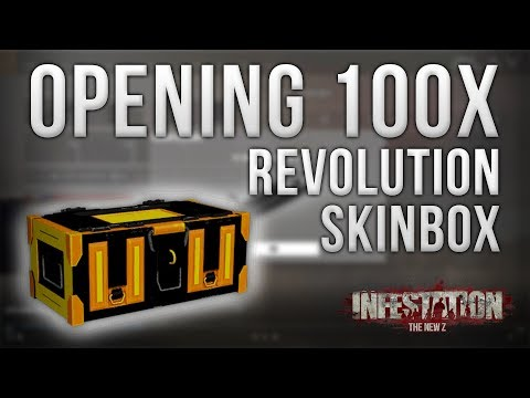 Infestation: The New Z - Opening 100x Revolution Skinbox