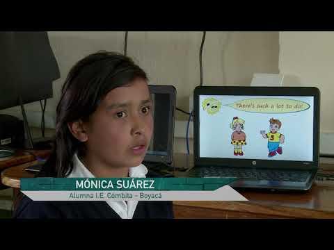 En Combita los niños aprenden inglés. C21 N4