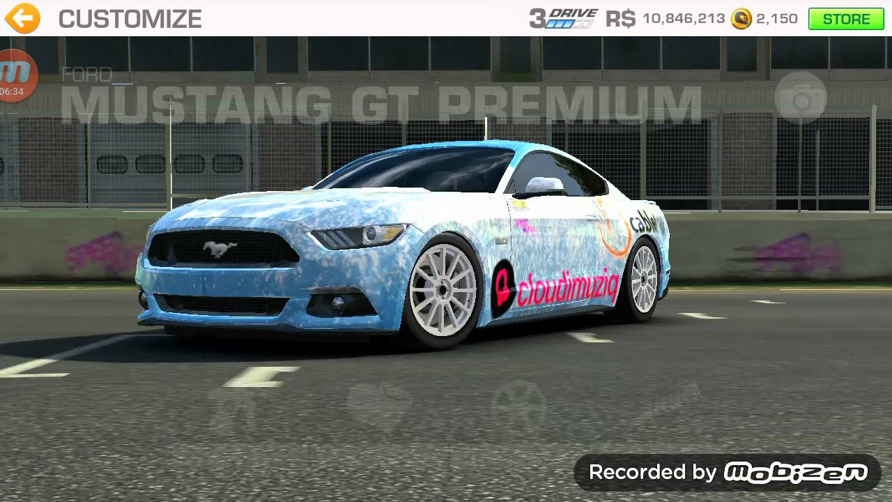 Ford Mustang Gt Premium Real Racing 3