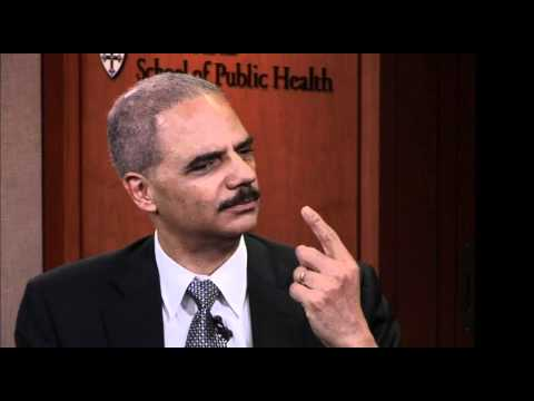 Defending Childhood and Youth/U.S. Attorney General Eric Holder || The Forum at HSPH