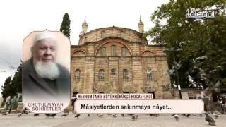 Tahir BüyükKörükcü Hocaefendi -  Sabrın Önemi Lâlegül TV