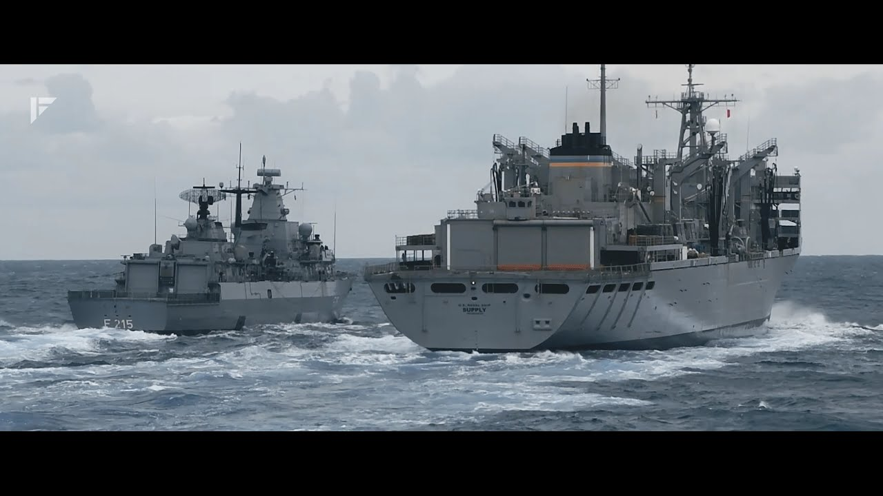 TENSIONS RISE: HMS Queen Elizabeth leads NATO show of strength to Putin