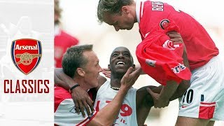 Arsenal classics: Ian Wright becomes Arsenal's leading goalscorer   13th September 1997