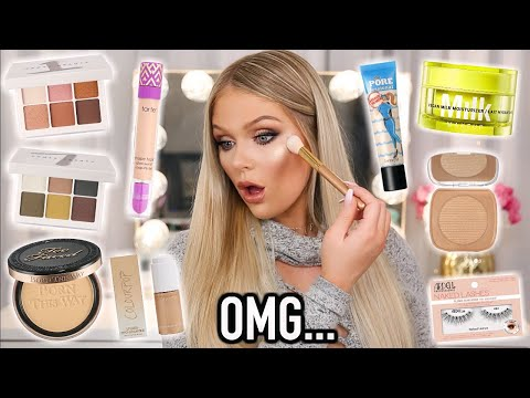 FULL FACE OF NEW MAKEUP TESTED | KELLY STRACK