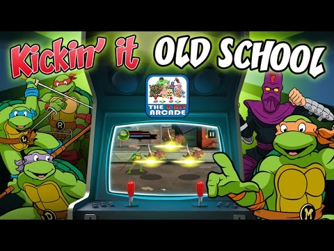 TMNT: Kickin' It Old School - Save The City, Enjoy Victory Pizza, COMPLETE (Nickelodeon Games)