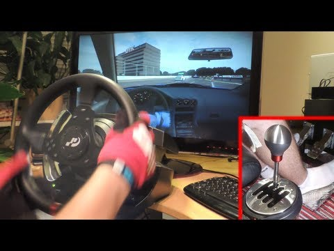 how to get thrustmaster 458 spider to work on pc