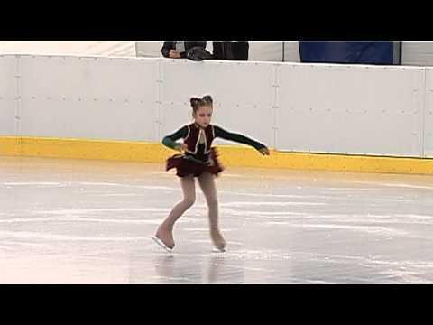 Luiza Ilie - Locul I la Campionatul National de Patinaj Artistic,