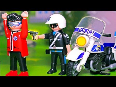 Мультики про машинки и работу полицейских! Новые игрушечные видео для детей