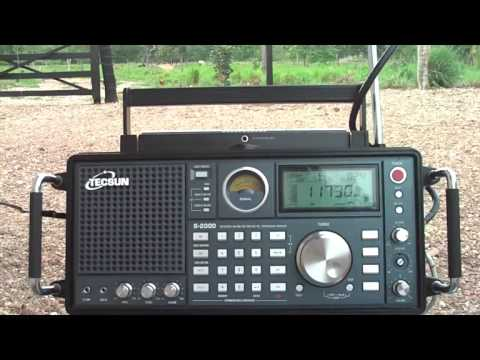 11730 kHz Radio Belarus , in French Language , Minsk Kalodzicy , Belarus