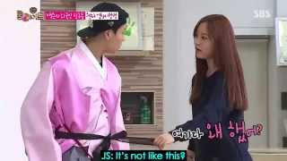 [ENG SUB] RM ep 45 Jackji: How to Wear Korean Hat