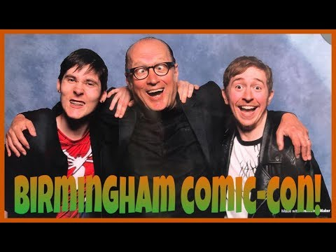 Adventure to Birmingham Comic-Con!