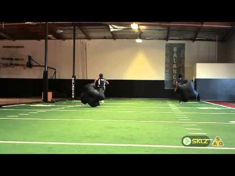 Nfl Speed Training Connor Barwin Parachute Sprint Doovi