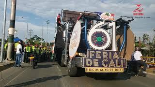Feria de cali desfile de autos clasicos y antiguos