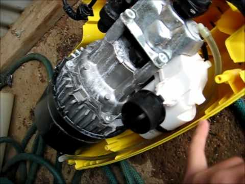 Karcher Pressure Washer Dismantle Amp Kwik Gas Opinion Youtube