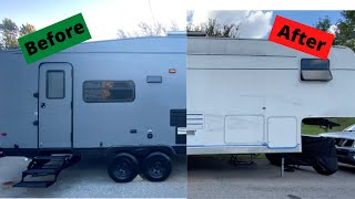 How To Paint a RV | Exterior RV Painting