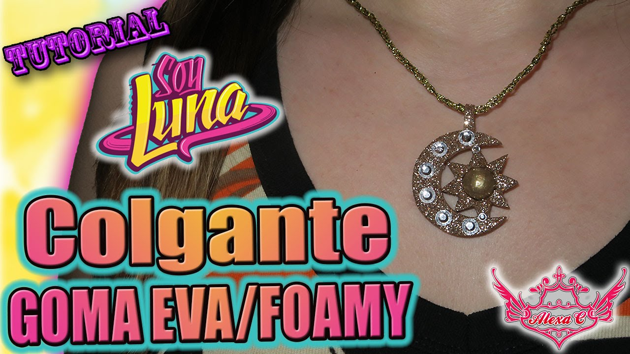 700575932141 ♥ Tutorial  Colgante Collar de