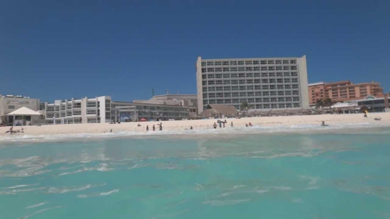 Cancun Sargassum Seaweed Status at April 2019