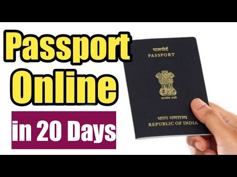 How to apply for my passport online