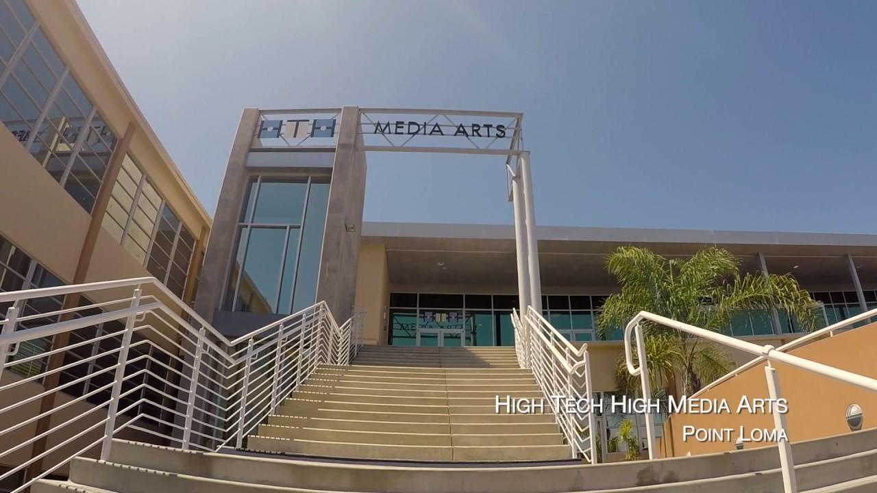 High Tech High Media Arts Virtual Tour Youtube