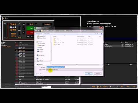 PCDJ Karaoki - Karaoke software How to Export Your Cases To Create Song Books