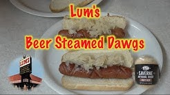 Lum's Beer Steamed Dawgs