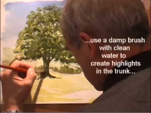 Tutorial – How To Draw Trees in Watercolour.mp4