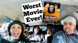 MY FAMILY REACTS TO THE WORST MOVIE EVER! | 'The Room'